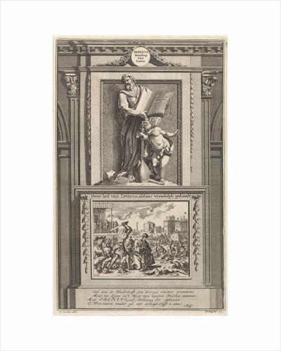 Saint Irenaeus of Lyons, church father by François Halma