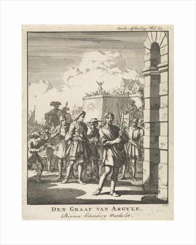 Execution of the Earl of Argyll, 1685 by Jan Claesz ten Hoorn