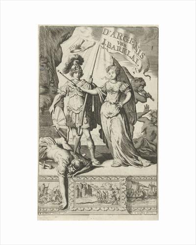 Queen and a Roman soldier by Jan Claesz ten Hoorn