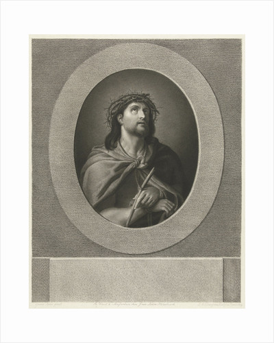 Christ handcuffed and wearing crown of thorns by J. van Ledden Hulsebosch