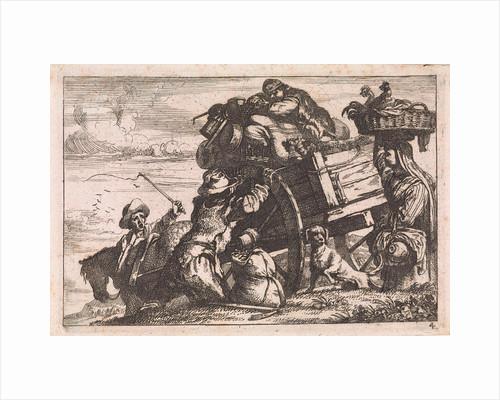 The cart by Jan Baptist de Wael