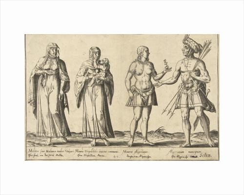 Mediterranean People around 1580 by Joos de Bosscher