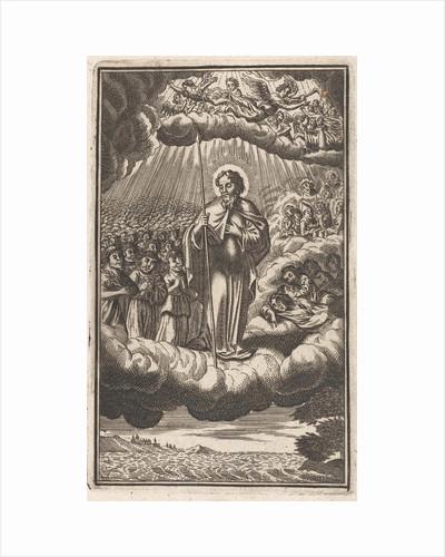 Saint Thomas in heaven by Philip Verbeek