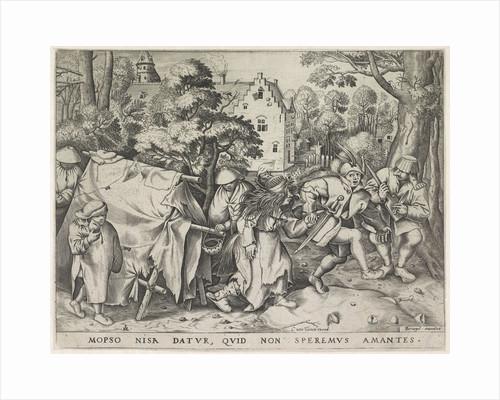 Dirty bride or wedding of Mopsus and Nisa by Cornelis van Tienen