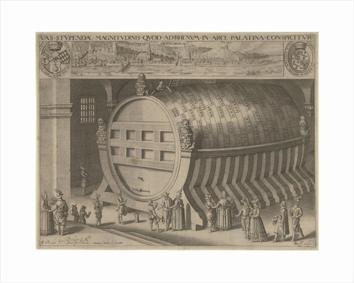 Big wine barrel Heidelberg by Hendrick Focken