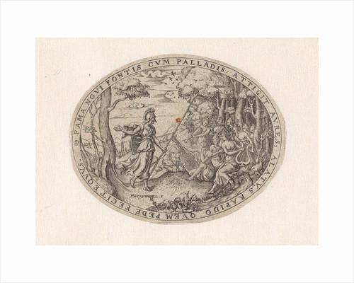 Minerva visits the Muses on Parnassus by Paulus van Wtewael