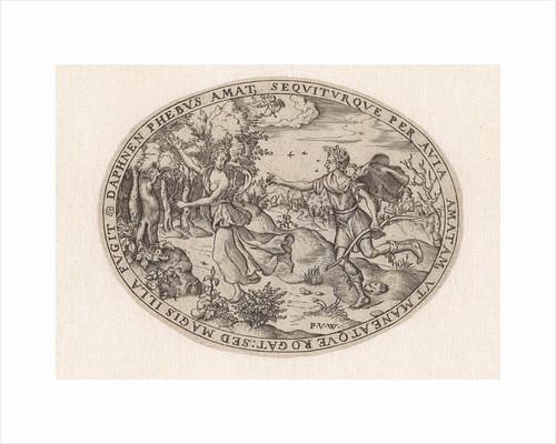 Apollo Chasing Daphne by Paulus van Wtewael