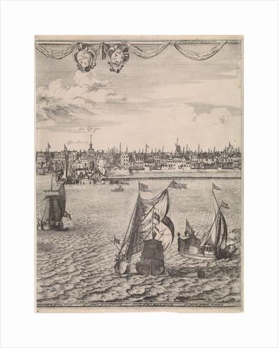 Panorama of Rotterdam by Jacob Quack