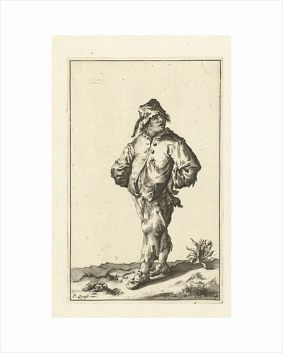 Ragged peasant dressed in rags by unknown