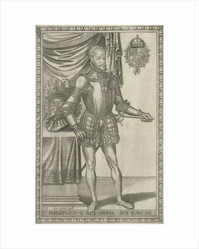 Portrait of King Philip II of Spain by Hans Liefrinck I