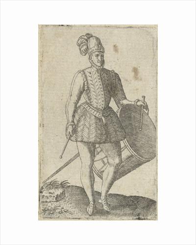 Soldier drummer by Abraham de Bruyn