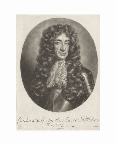 Portrait of Charles II of England by Edward Cooper