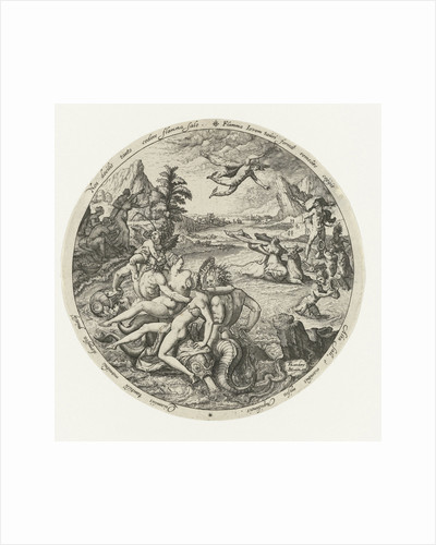 The robbery of Europe by Jacob de Gheyn II