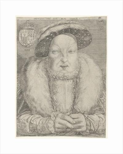 Portrait of King Henry VIII of England and Ireland by Cornelis Massijs