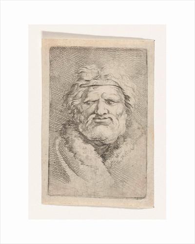 Bust of a man by Samuel van Hoogstraten