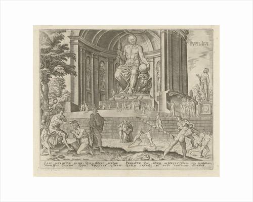 Statue of Zeus at Olympia by Hadrianus Junius