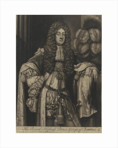Portrait of George, Prince of Denmark by Pieter Schenk I