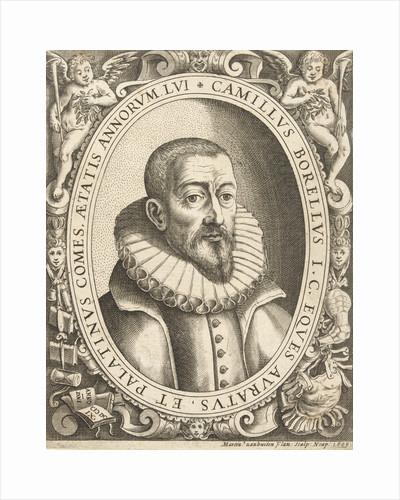 Portrait of Camillus Berellius by Martin van Buyten