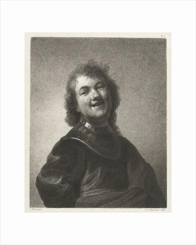 Smiling man by Lambertus Antonius Claessens