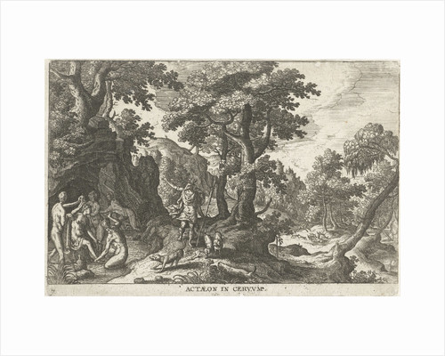 Diana and Actaeon by Anonymous