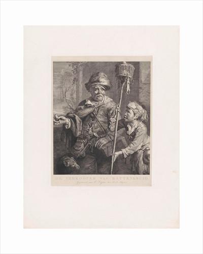 The rat catcher with his servant by Dirk Jurriaan Sluyter