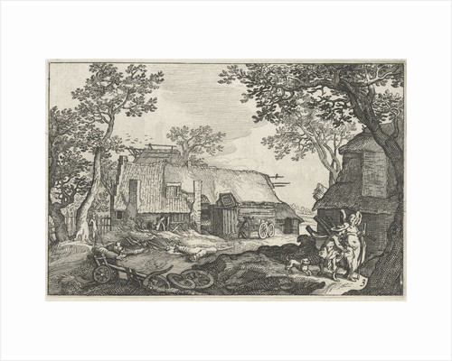 Tobias and the Angel by Boëtius Adamsz. Bolswert