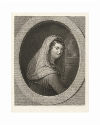 Young woman with a veil by Guido Reni
