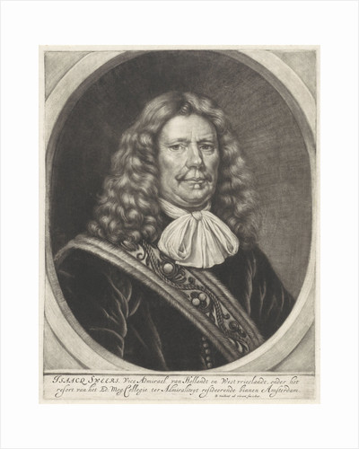 Portrait of Rear Admiral Isaac Sweers by Bernard Vaillant