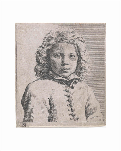 Bust of a boy by Michael Sweerts