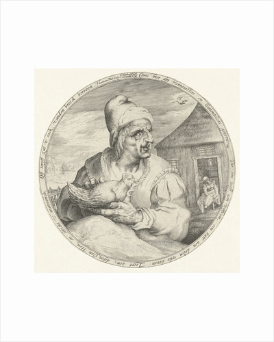 Hen-pecked husband by Cornelis Danckerts I