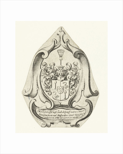 Coat of arms of the family De Graeff by Anonymous