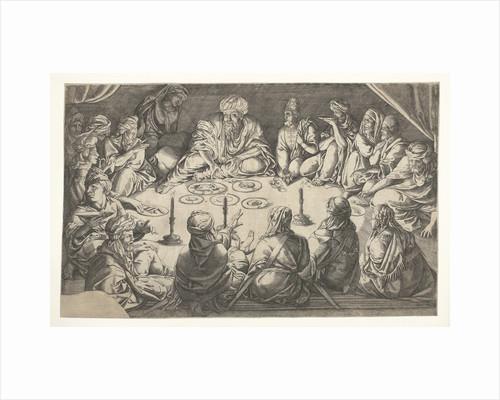 Oriental meal by Jan Cornelisz Vermeyen