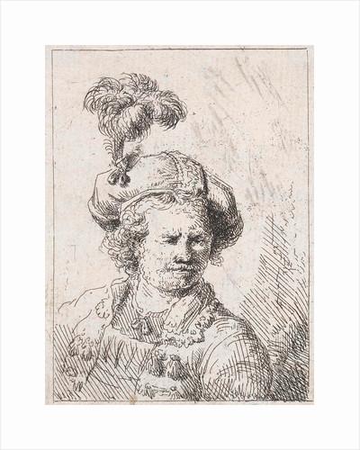 A man's Bust by Abraham van Strij I