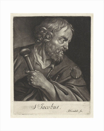 Apostle James the Greater, James Maior by Jacob Toorenvliet