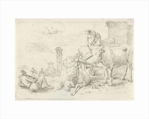 Ox Cart by Jan van Ossenbeeck