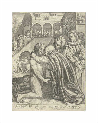 Homecoming of the Prodigal Son by Assuerus van Londerseel