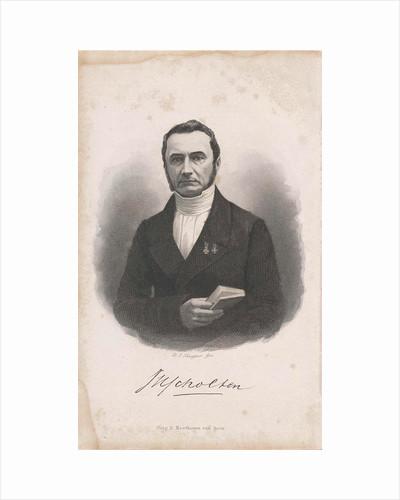 Portrait of Jan Hendrik Scholten by Dirk Noothoven van Goor