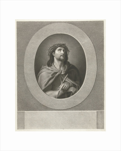 Christ handcuffed and wearing crown of thorns by Guido Reni