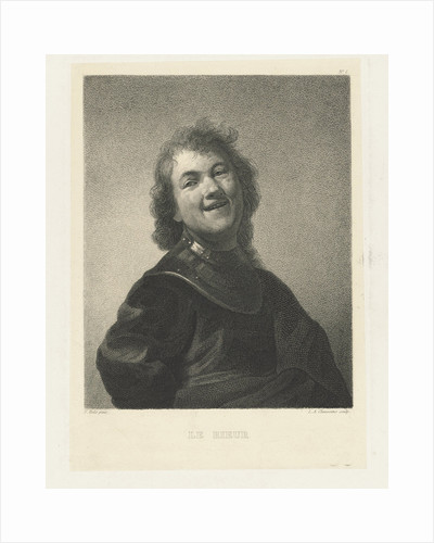 Smiling man by Frans Hals