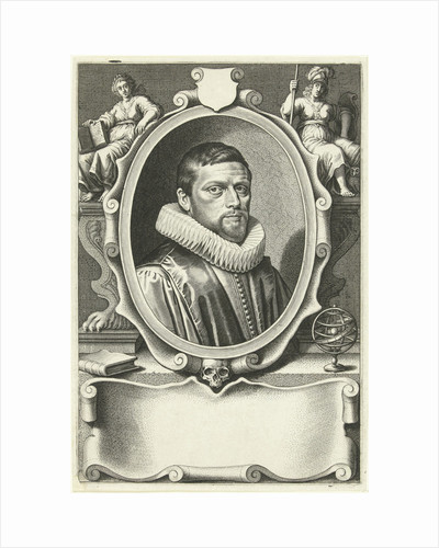 Portrait of Caspar van Baerle by David Bailly