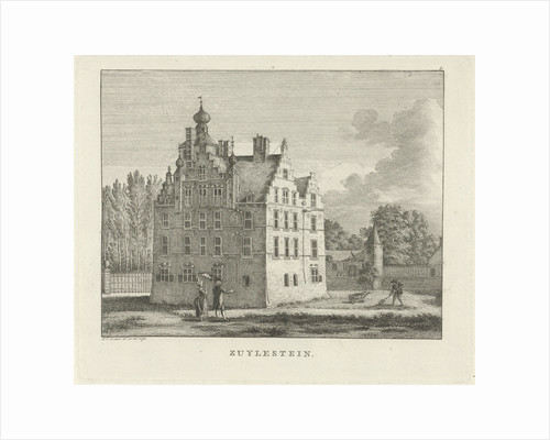 View of the estate Zuilestein by Jan Evert Grave