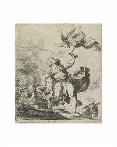 Sacrifice of Isaac by Willem van Haecht II