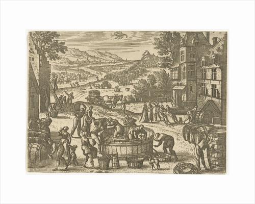 October by Pieter van der Borcht I