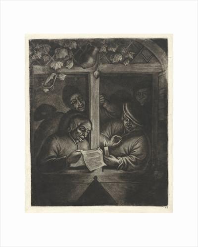 To Reader in a window by Adriaen van Ostade