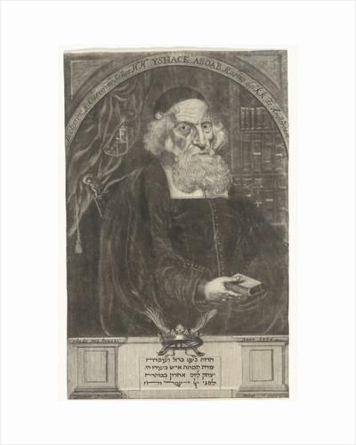 Portrait of Isaac Aboab da Fonseca by Aernout Nagtegaal