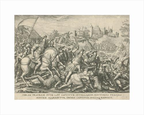 Abraham frees Lot by Symon Novelanus