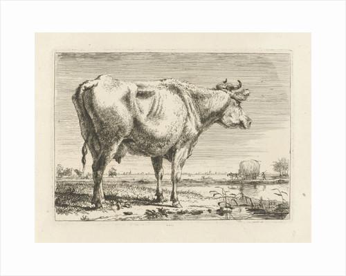 Standing cow by Pieter Gerardus van Os