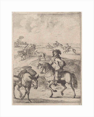 Fable of the horse and the donkey by John Ogilby
