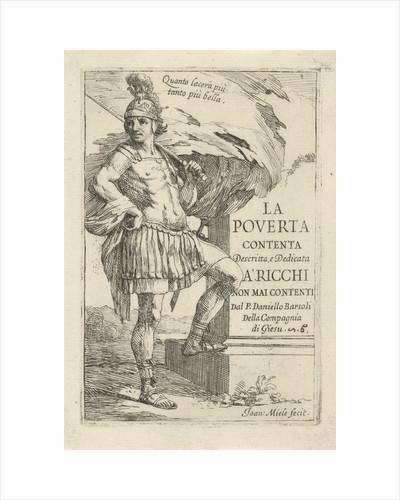 Roman soldier by Jan Miel