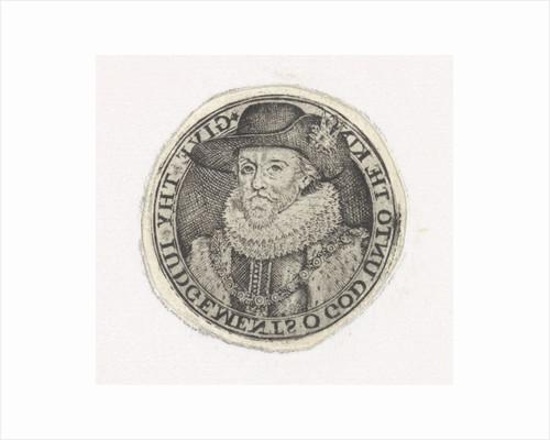 Bust Portrait of James I by Simon van de Passe